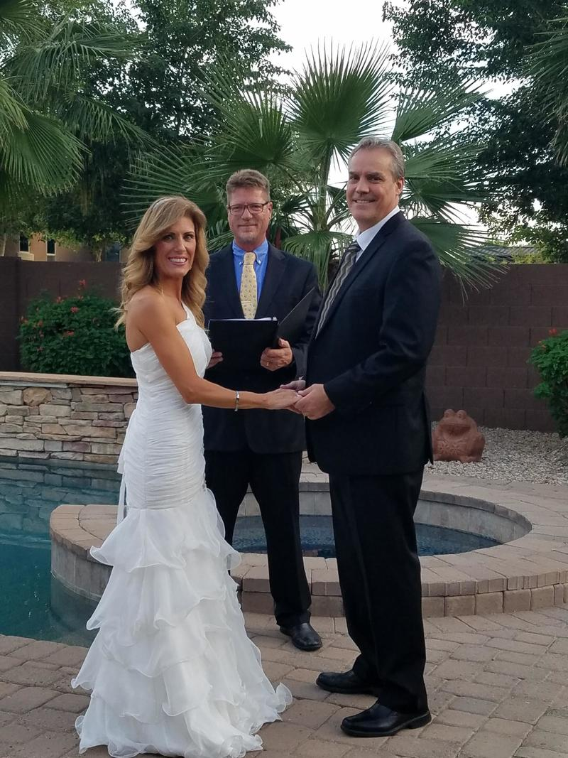 Arizona Wedding Officiant